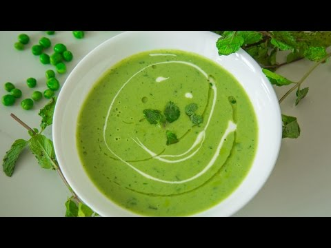 Creamed Green Peas Soup Recipe | Easy To Make Healthy Soup | By Teamwork Food