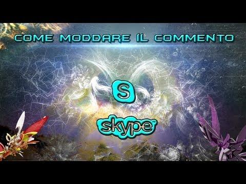 [Tutorial] Come moddare il commento di skype + download - Modding skype comment | ITA HD