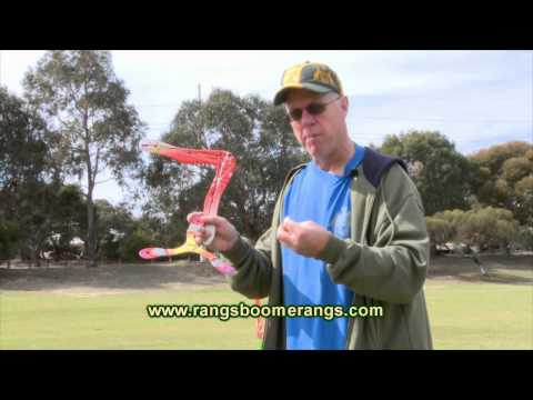 How to make your boomerang come back
