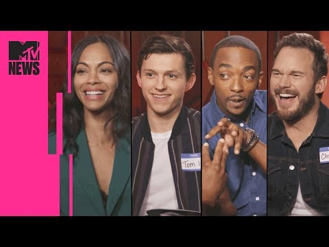 The 'Avengers: Infinity War' Cast Play Marvel Trivia | MTV News