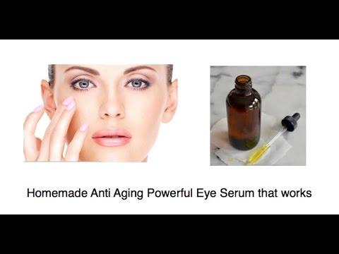DYI Eye Serum. Homemade Anti Aging Powerful Eye Serum that works