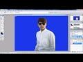 How to erase and change background color in PHOTOSHOP 7 :PART-2