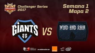 GIA VS WAR - MAPA 2 - JORNADA 1 - CHALLENGER EN CASTELLANO - #CHALLENGERLVP