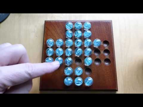 How to Solve Peg Solitaire by Robert Darke