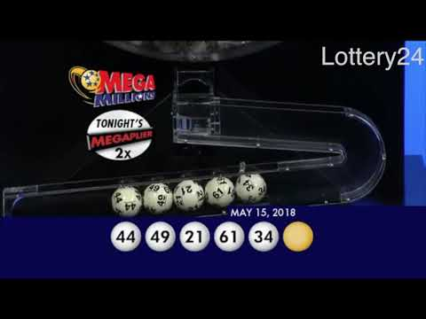 2018 05 15 Mega Millions Numbers and draw results