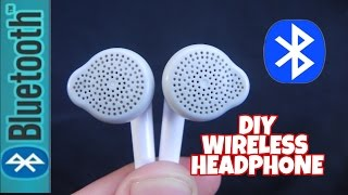 How to make your Headphone Wireless(Even old Broken Headphone)-DIY Life Hack Tutorial