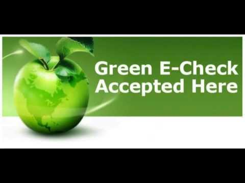 Green E-Check Ordering Instructional Video