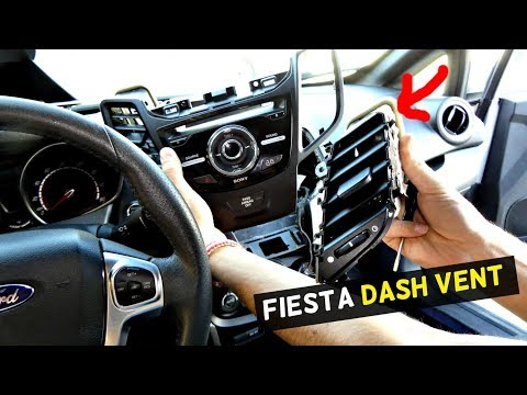 FORD FIESTA CENTER DASH VENT REPLACEMENT REMOVAL ST MK7
