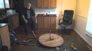 Angry Grandpa Destroys Kitchen!   Music Jinni