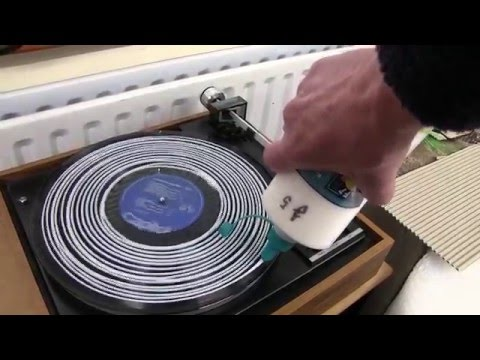 Vinyl record Cleaning with PVA Glue or Liquid.