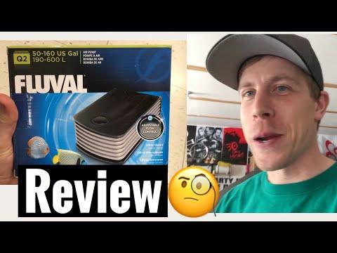 Fluval Q2 Review Air Pump Q1 and Q3 Series