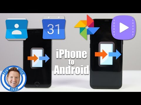 Transfer iPhone Data to ANY Android Using Copy My Data | Contacts, Calendar, Photos, Videos