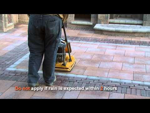 How to use Polymeric Sand