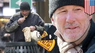 Richard Gere Mistaken For Homeless Man Given Leftover Pizza By New Yo
