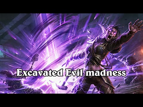 hearthstone excavated evil priest madness
