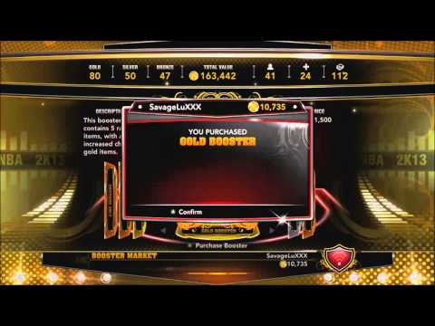 NBA 2k13 My Team | How To Get Gold Legends | The Method Works!!!