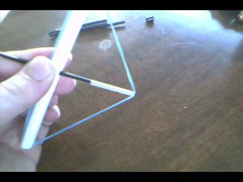 How to make a pen bow and arrow
