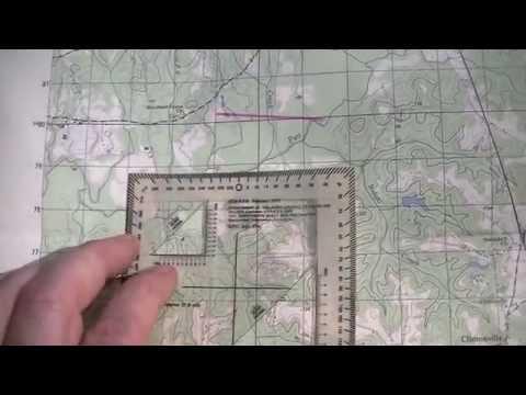 LAND NAV. MAP COORDINATES PT.1