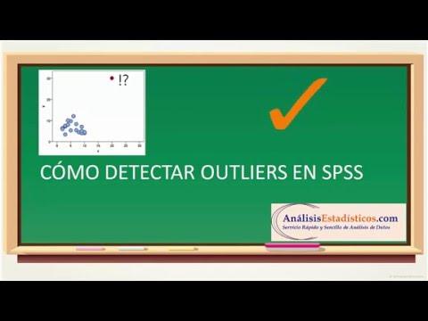 Como detectar outliers en SPSS