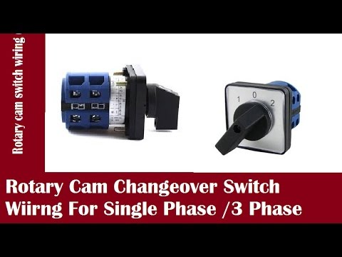 Rotary Cam Changeover Switch For Single Phase /3 Phase In Urdu/Hindi