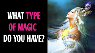 WHAT TYPE OF MAGIC DO YOU HAVE? Personality Test Quiz - 1 Million Tests