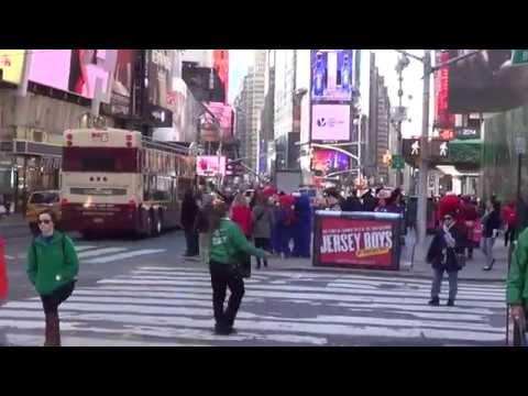#58 США, Нью-Йорк,пестрота Times Square-Таймс Сквер.