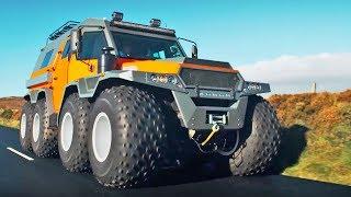 The HUGE Avtoros Shaman 8x8   Top Gear Series 24   BBC