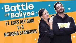 Exes Aly Goni and Natasha Stankovic challenge each other for a dance battle | Battle of Baliyes