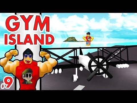 FLYING PLANES in Roblox!! | Gym Island #9