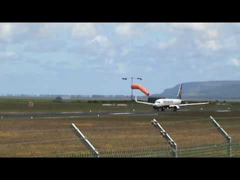 Ryanair, Take off from City of Derry airport