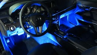 iJDMTOY LED Interior Lighting with Wireless Remote