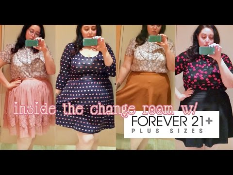 Inside The Change Room W Forever 21 Plus Size  E2 99 A1