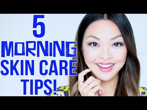 5 Morning Skin Care Tips You Need To Know!