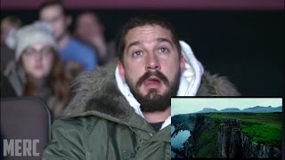 SHIA LABEOUF REACTION TO TRANSFORMERS:THE LAST KNIGHT [FAN MADE]