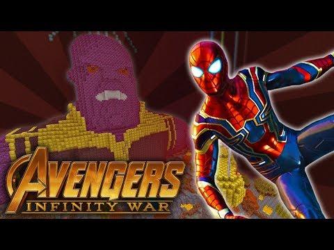 Minecraft Xbox | Avengers Infinity War (Hide and Seek)