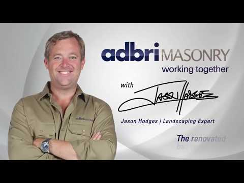 Australia's Worst Backyard Competition | The renovated backyard | Adbri Masonry