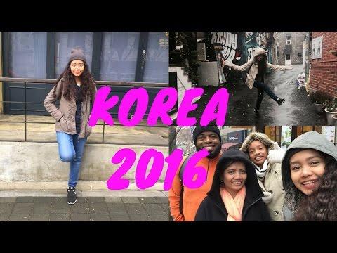 VLOG: SEOUL, KOREA 2016 - Winter trip (Myeongdong, Itaewon, Hongdae, Gangnam)