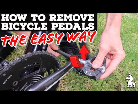 How To Remove Bicycle Pedals - The Easy Way