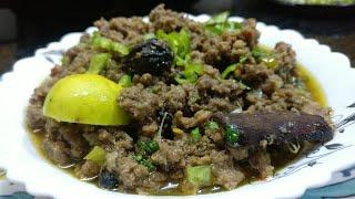 Unique Keema - khada Keema | mince with whole spices - my Dastarkhwan Keema