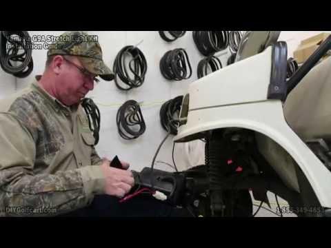 Yamaha G2, G9 Headlight Tail Light Kit | How to Install on Golf Cart