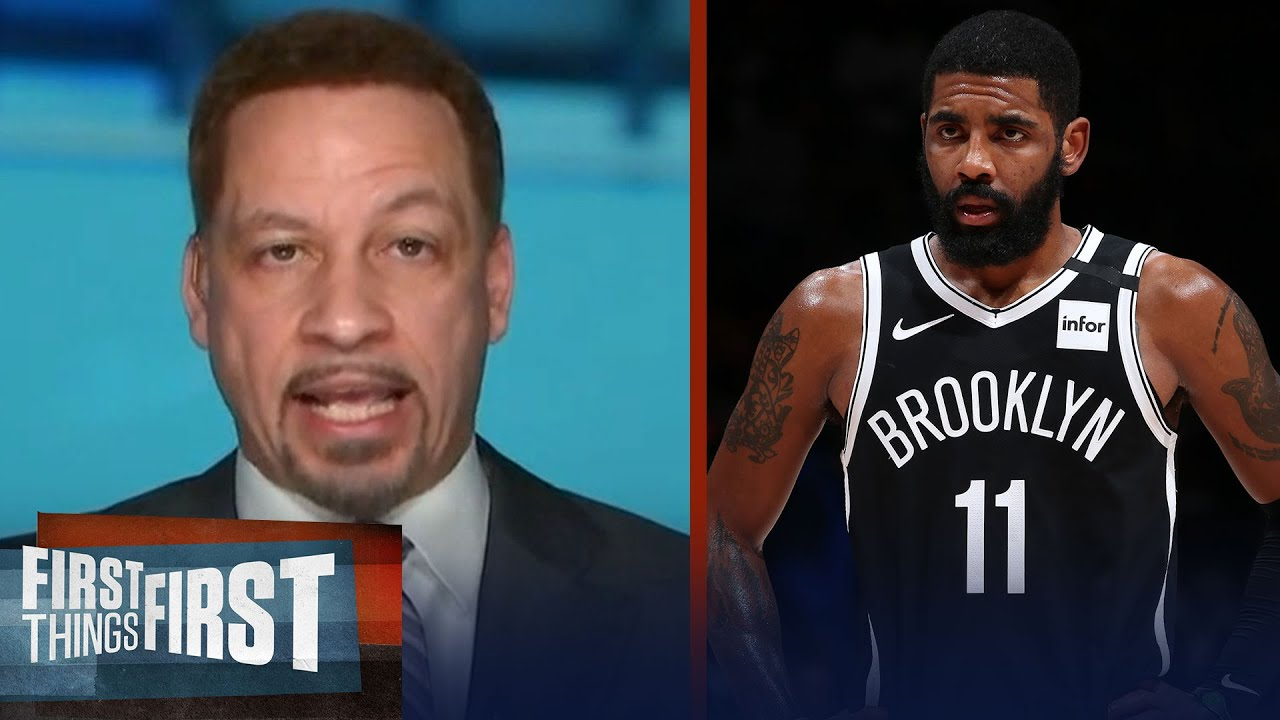 Kyrie's not acting like a pro player; talks trade for Harden — Broussard | NBA | FIRST THINGS FIRST