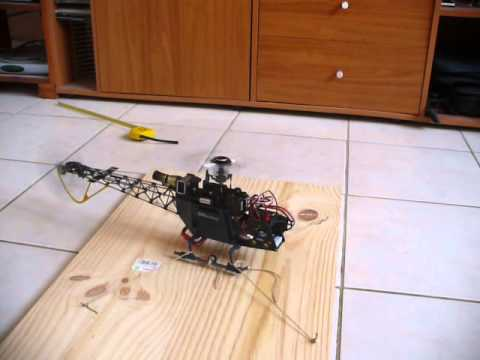 Build a simple Take-off control / Training plate for electric RC helicopter