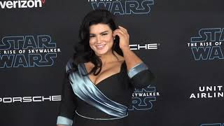 Gina Carano at the Star Wars The Rise of Skywalker Premiere at El Capitan Theatre in Hollywood