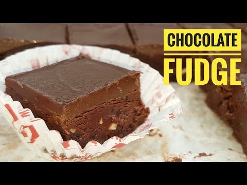 Chocolate Fudge (easy dessert)