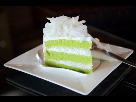 thai pandan cake recipe and a step by step guide how to cook