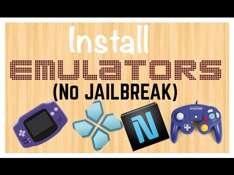 How to install emulators in iphone ipad ipod ( NO JAILBREAK REQUIRED )