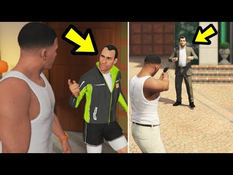 What if Franklin takes out Michael before he's finished? (GTA 5)