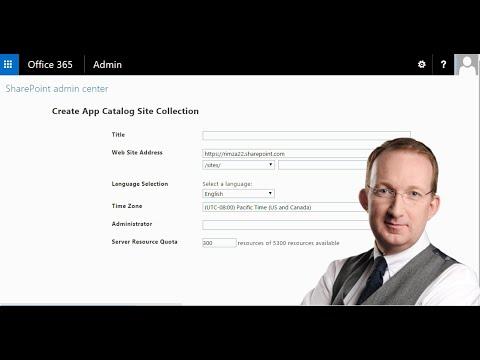 Create a SharePoint Online App/Addin Catalog