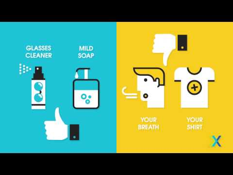 3 Tips for Keeping Your Glasses Clean & Scratch Free
