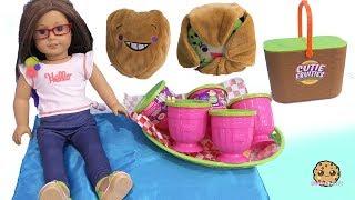 Cutie Fruities Picnic ! Surprise Blind Bag Plush Fruit Cups